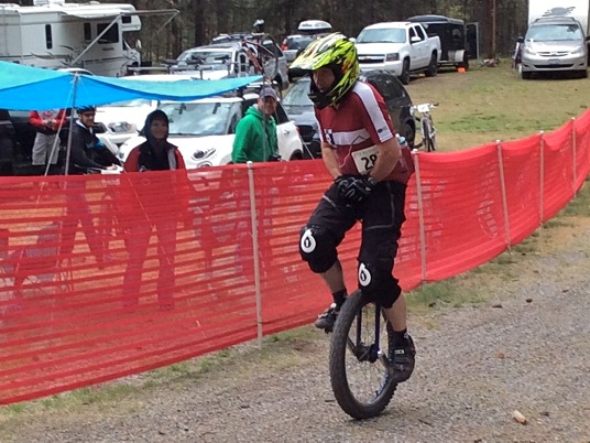 2015 Beacon and Legs - Unicycle, Joe Myers Finish
