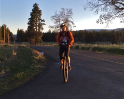 Joe Myers riding in the 2014 Gran Fondo Goldendale